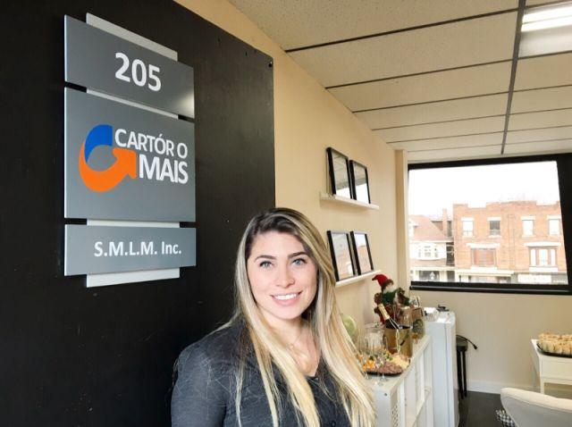 A advogada Lara Merjane, diretora do Cartório Mais em Toronto.