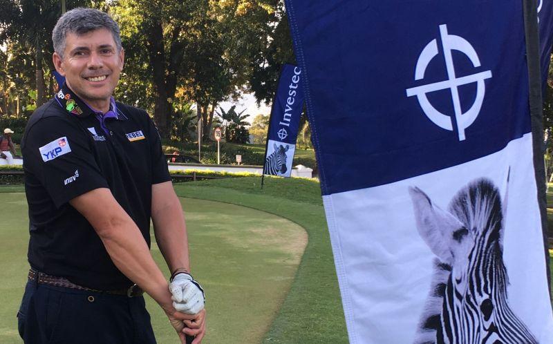 Entrevista com o golfista gaúcho Adilson da Silva, representante masculino do golfe brasileiro nas Olimpíadas do Rio de Janeiro – Foto: Althea da Silva/arquivo pessoal