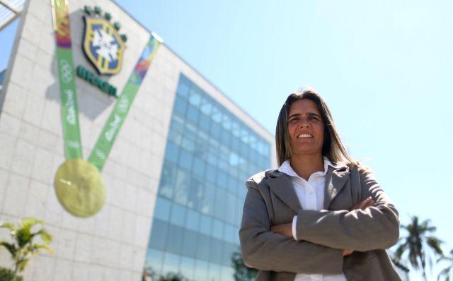 Entrevista com Emily Lima, a primeira treinadora da seleção brasileira de futebol feminino - Fotos: Lucas Figueiredo/CBF