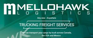 Mellohawk Logistics. Transporte e logística